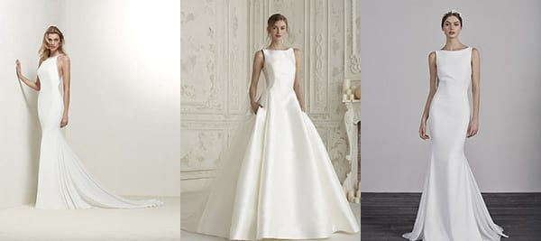 Understated Pronovias Dresses